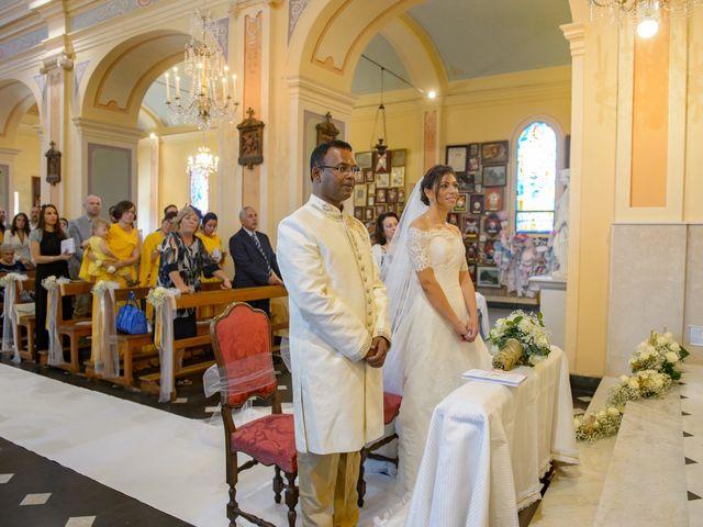 Il matrimonio di Thirumaaran e Claudia a Alassio, Savona 7