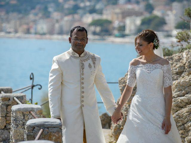 Il matrimonio di Thirumaaran e Claudia a Alassio, Savona 12
