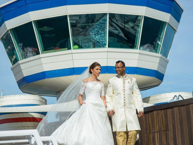Il matrimonio di Thirumaaran e Claudia a Alassio, Savona 13