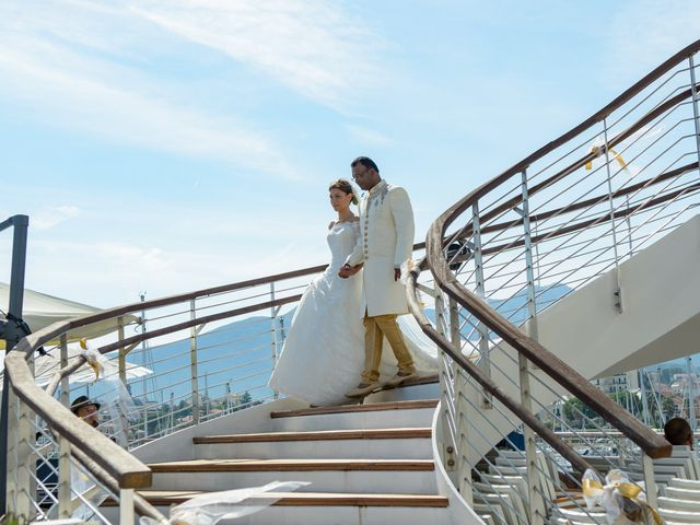Il matrimonio di Thirumaaran e Claudia a Alassio, Savona 14