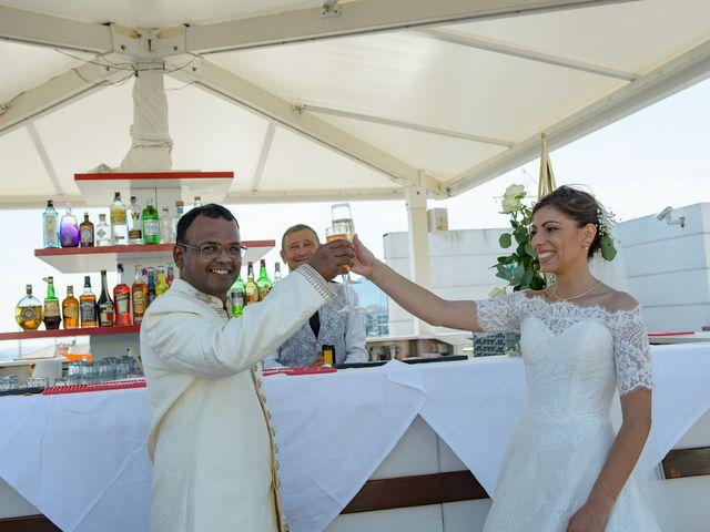 Il matrimonio di Thirumaaran e Claudia a Alassio, Savona 15