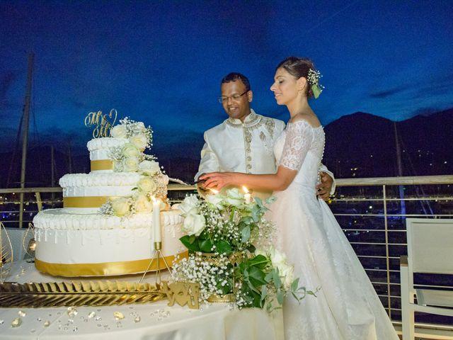 Il matrimonio di Thirumaaran e Claudia a Alassio, Savona 17