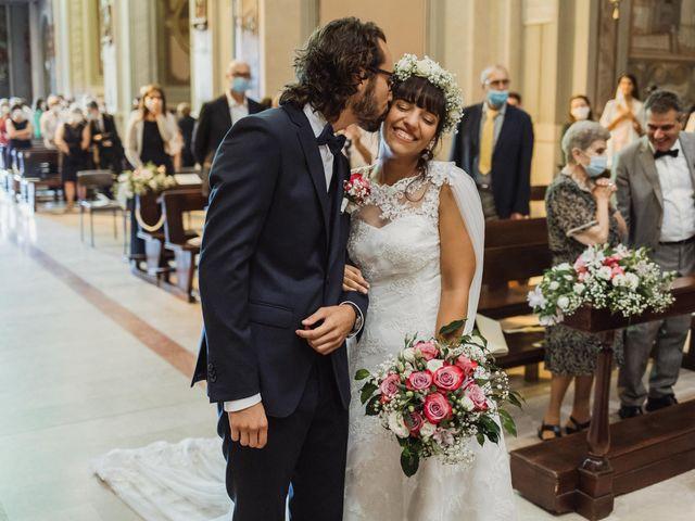 Il matrimonio di Alessio e Margherita a La Valletta Brianza, Lecco 24