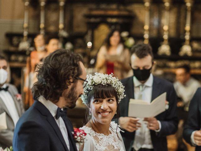 Il matrimonio di Alessio e Margherita a La Valletta Brianza, Lecco 25