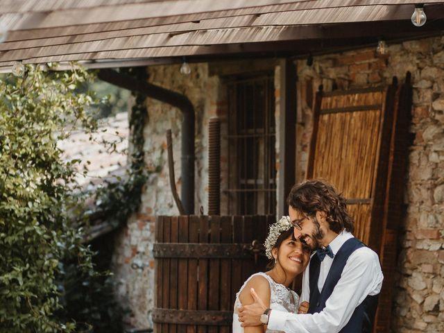 Il matrimonio di Alessio e Margherita a La Valletta Brianza, Lecco 44