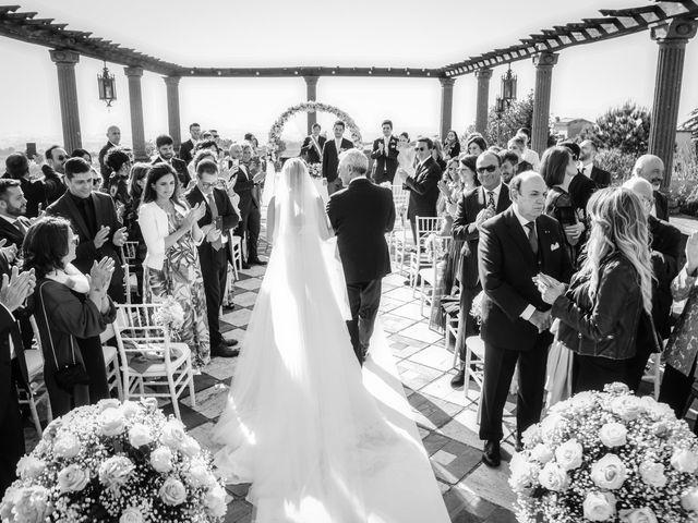 Il matrimonio di Andrea e Federica a Grottaferrata, Roma 32