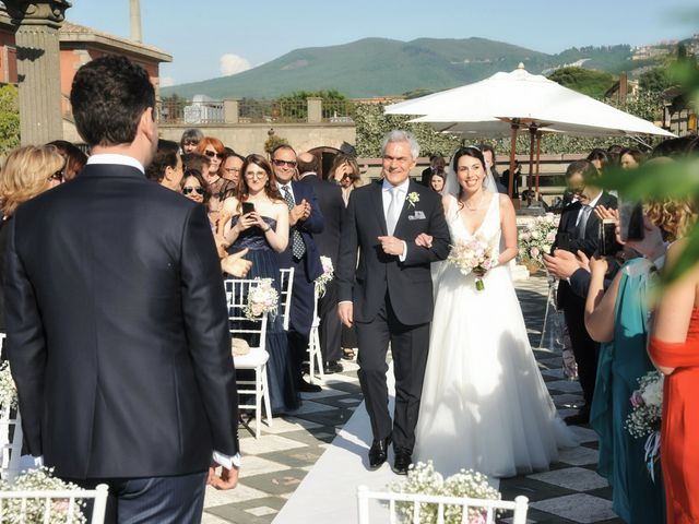 Il matrimonio di Andrea e Federica a Grottaferrata, Roma 33