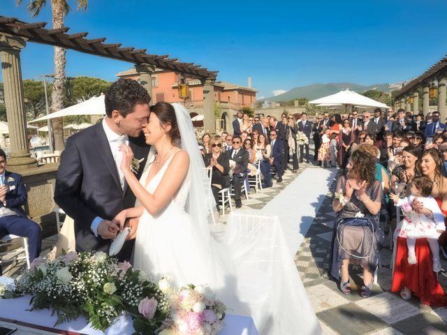 Il matrimonio di Andrea e Federica a Grottaferrata, Roma 44