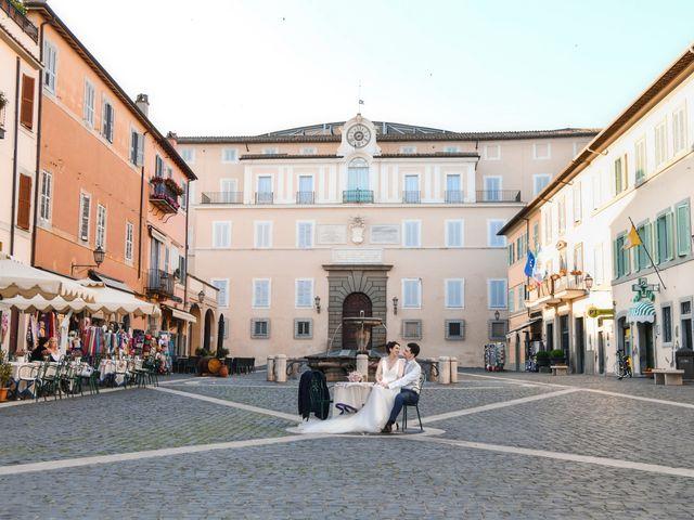 Il matrimonio di Andrea e Federica a Grottaferrata, Roma 62
