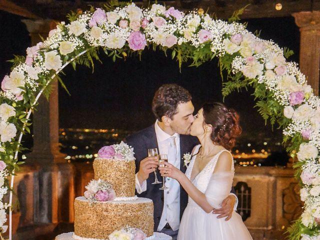 Il matrimonio di Andrea e Federica a Grottaferrata, Roma 79