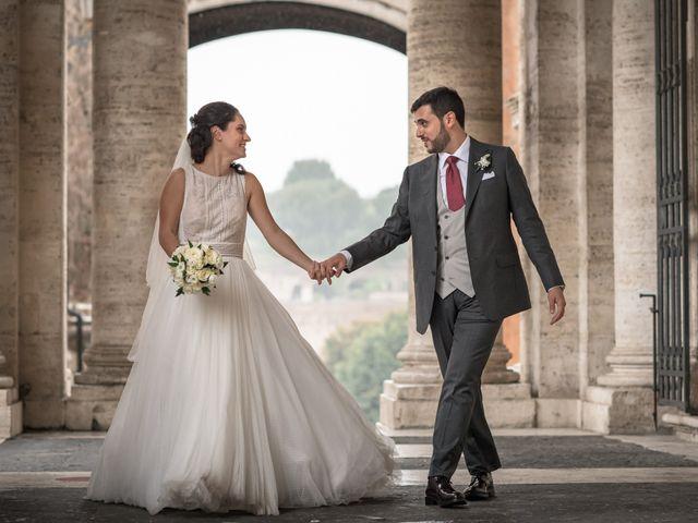 Il matrimonio di Sara e Gaetano a Roma, Roma 56