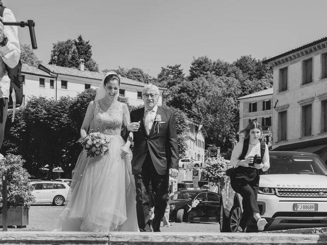 Il matrimonio di Federico e Sara a Asolo, Treviso 9