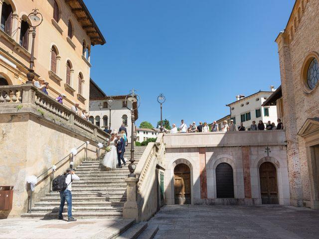 Il matrimonio di Federico e Sara a Asolo, Treviso 10