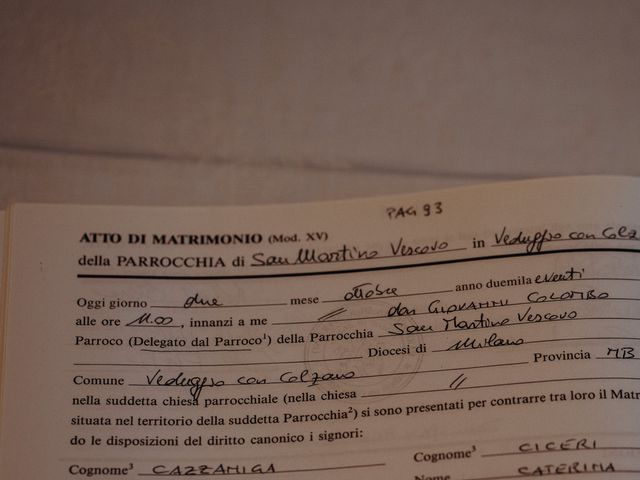 Il matrimonio di Marco e Caterina a Veduggio con Colzano, Monza e Brianza 37