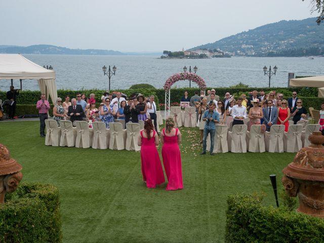 Il matrimonio di Barry e Lynsey a Baveno, Verbania 7