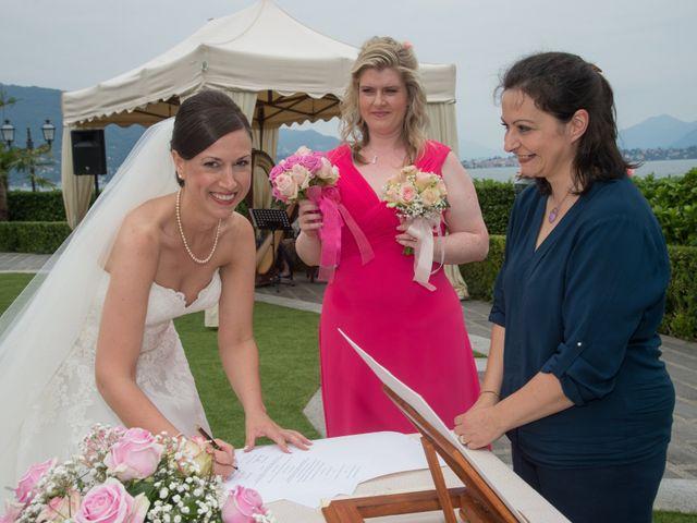 Il matrimonio di Barry e Lynsey a Baveno, Verbania 8