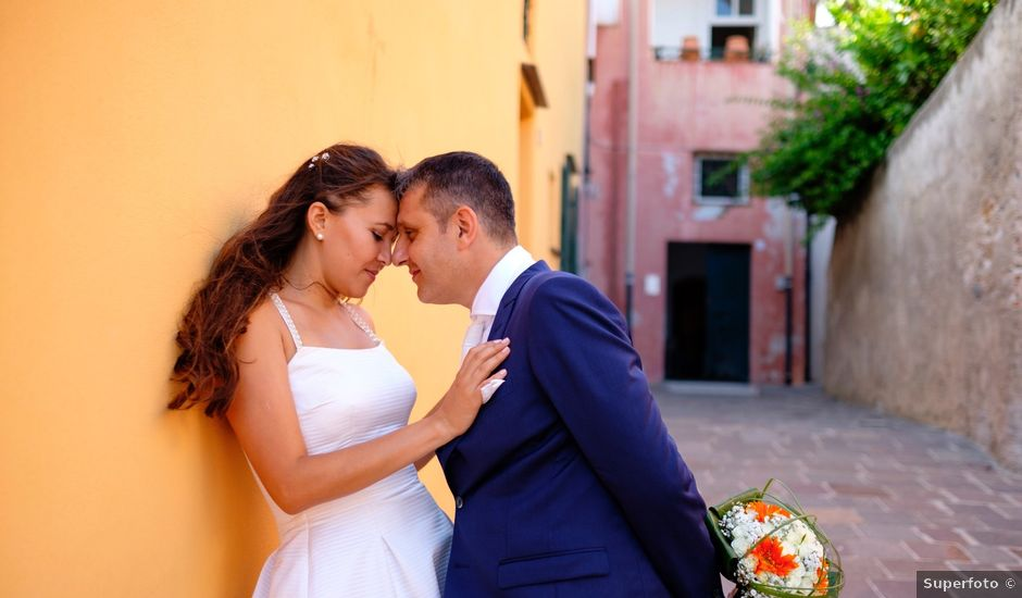Il matrimonio di William e Ercilene a Noli, Savona