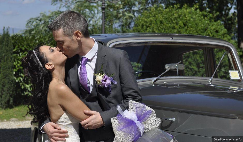 Il matrimonio di Lorenzo e Pamela a Sesto Fiorentino, Firenze