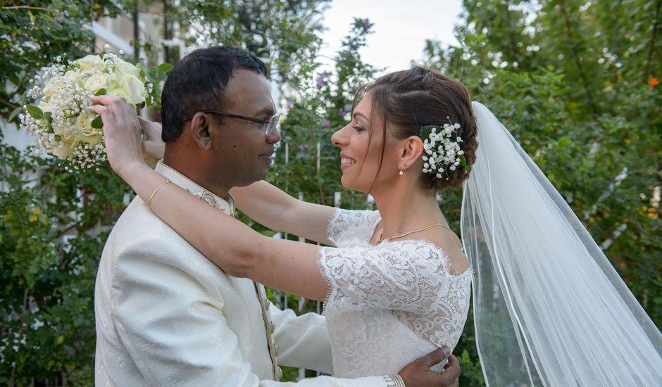 Il matrimonio di Thirumaaran e Claudia a Alassio, Savona