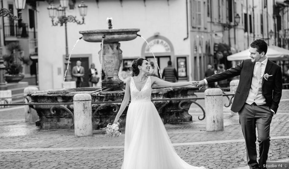 Il matrimonio di Andrea e Federica a Grottaferrata, Roma