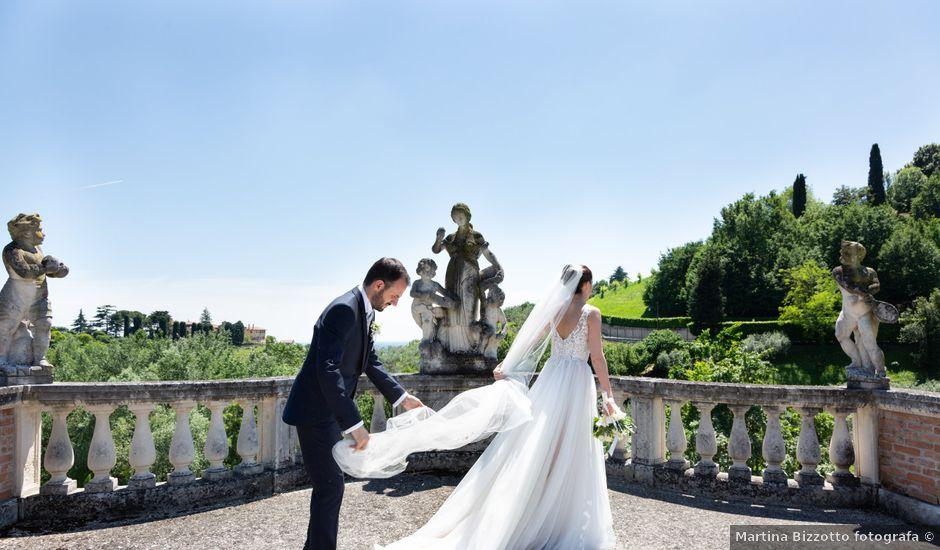 Il matrimonio di Federico e Sara a Asolo, Treviso