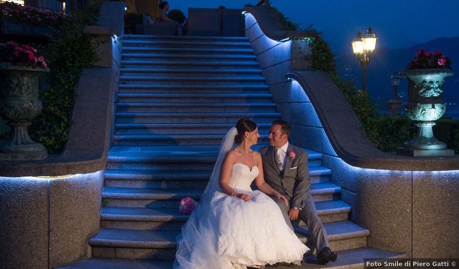 Il matrimonio di Barry e Lynsey a Baveno, Verbania