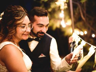 Le nozze di Glenda e Morgan