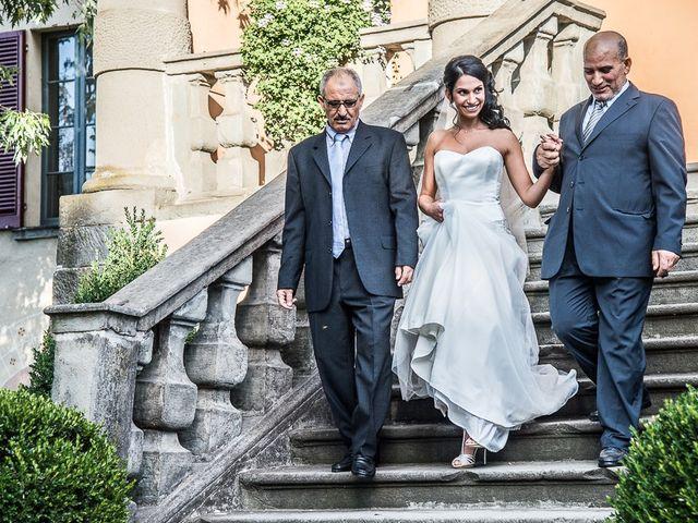 Il matrimonio di Luca e Amina a Coccaglio, Brescia 87