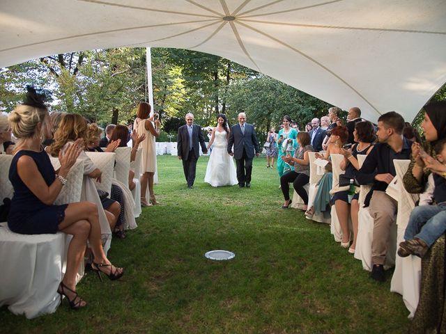 Il matrimonio di Luca e Amina a Coccaglio, Brescia 92