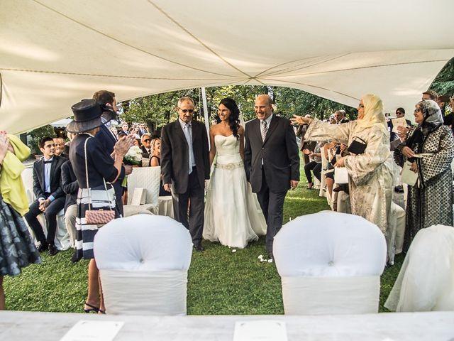 Il matrimonio di Luca e Amina a Coccaglio, Brescia 95