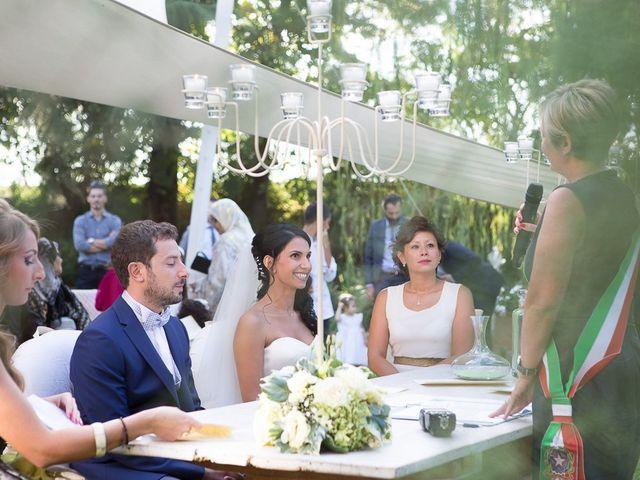 Il matrimonio di Luca e Amina a Coccaglio, Brescia 104