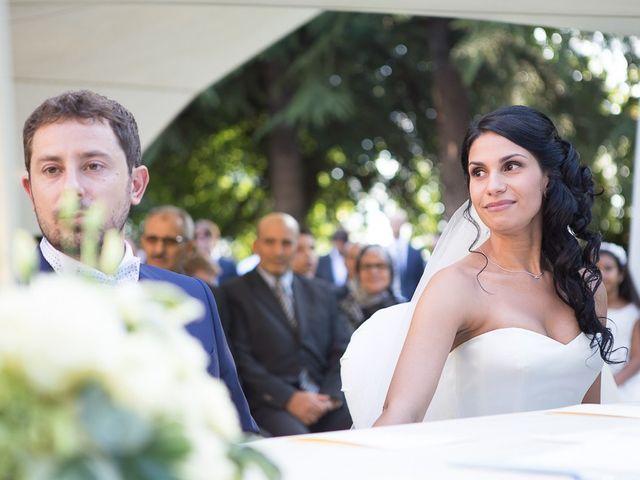 Il matrimonio di Luca e Amina a Coccaglio, Brescia 107