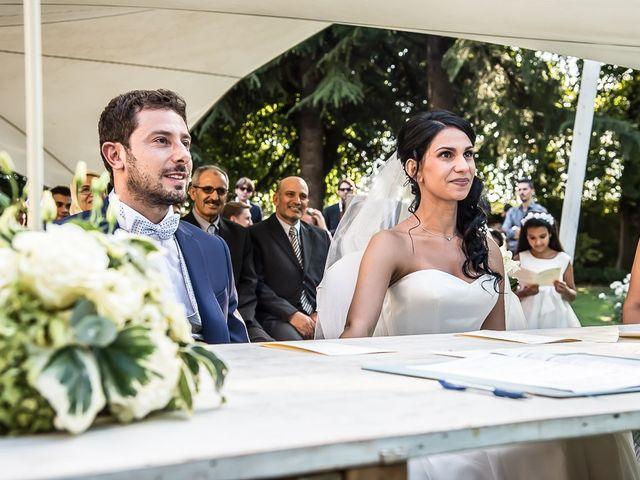Il matrimonio di Luca e Amina a Coccaglio, Brescia 121