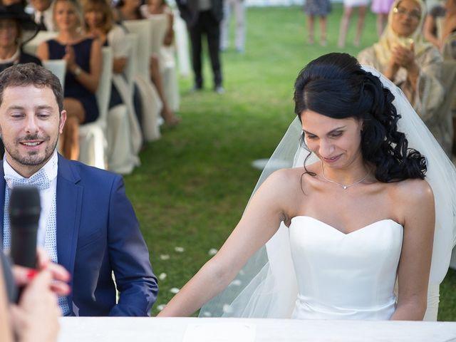 Il matrimonio di Luca e Amina a Coccaglio, Brescia 122