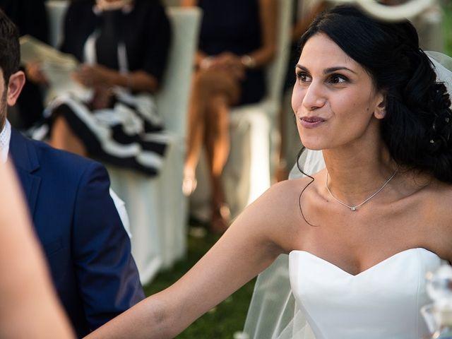 Il matrimonio di Luca e Amina a Coccaglio, Brescia 123