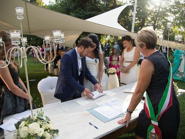 Il matrimonio di Luca e Amina a Coccaglio, Brescia 126
