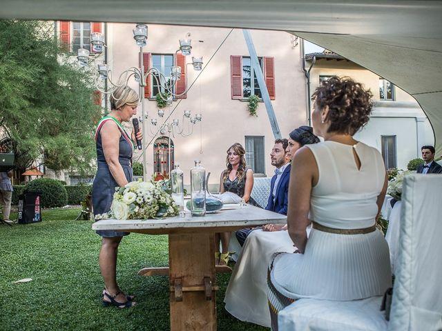 Il matrimonio di Luca e Amina a Coccaglio, Brescia 134