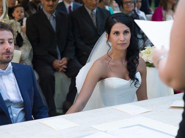 Il matrimonio di Luca e Amina a Coccaglio, Brescia 130