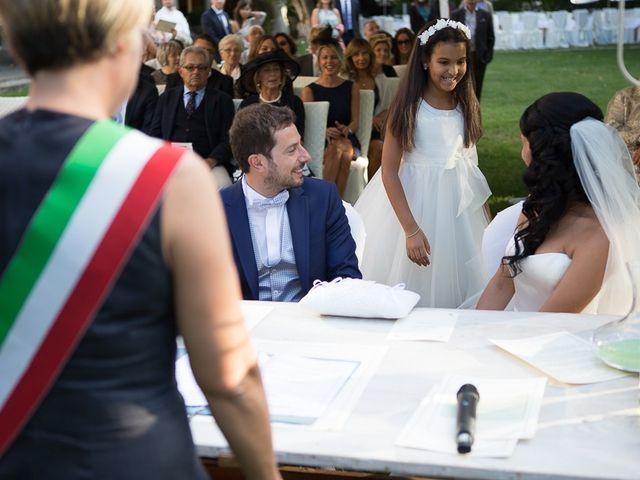 Il matrimonio di Luca e Amina a Coccaglio, Brescia 141