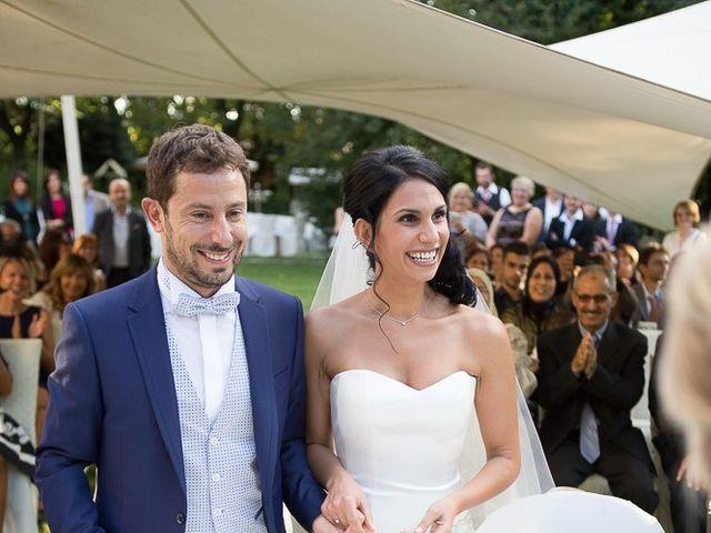 Il matrimonio di Luca e Amina a Coccaglio, Brescia 153