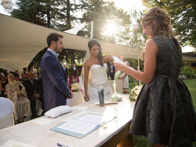 Il matrimonio di Luca e Amina a Coccaglio, Brescia 167
