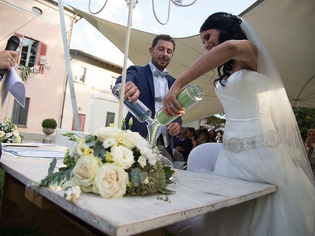 Il matrimonio di Luca e Amina a Coccaglio, Brescia 171