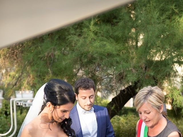 Il matrimonio di Luca e Amina a Coccaglio, Brescia 176