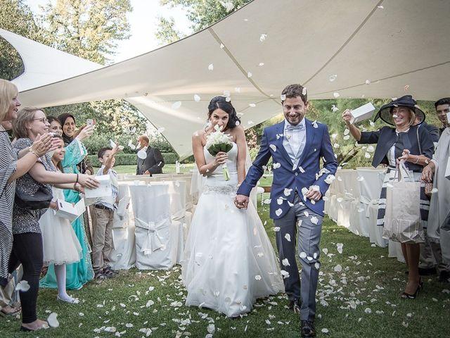 Il matrimonio di Luca e Amina a Coccaglio, Brescia 190