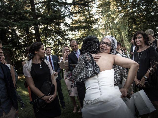 Il matrimonio di Luca e Amina a Coccaglio, Brescia 206