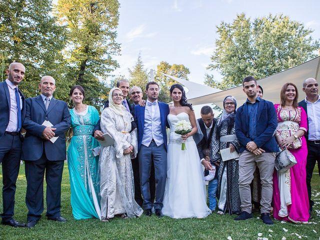 Il matrimonio di Luca e Amina a Coccaglio, Brescia 215