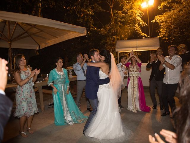 Il matrimonio di Luca e Amina a Coccaglio, Brescia 449