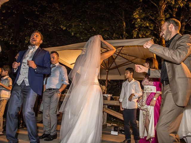 Il matrimonio di Luca e Amina a Coccaglio, Brescia 452