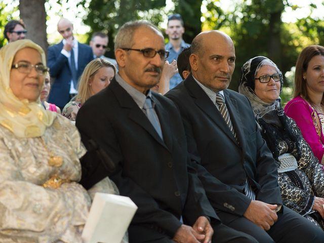 Il matrimonio di Luca e Amina a Coccaglio, Brescia 175
