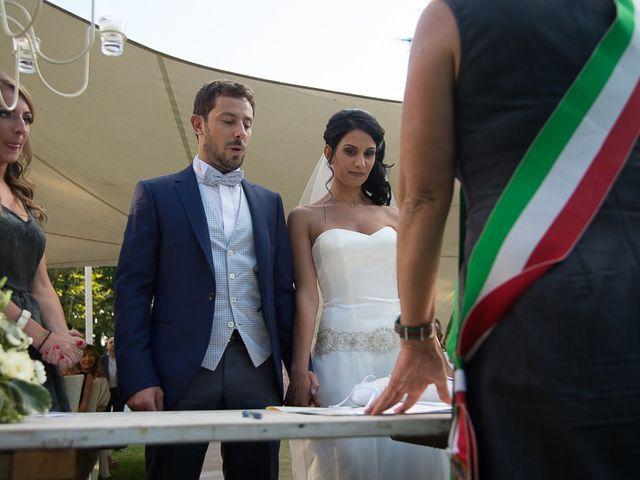 Il matrimonio di Luca e Amina a Coccaglio, Brescia 100